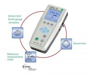 Portable high precision sensor measurement tool for test, calibration and fault finding