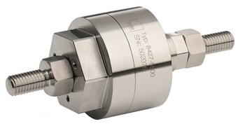 Compact tension and compression load cell suits robot tool integration