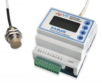No PC Required: Kaman's digiVIT Standalone Inductive Sensor