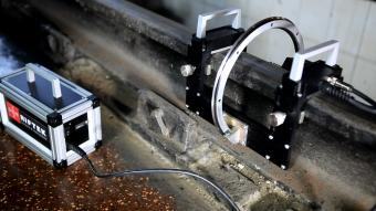 Riftek Rail Measurement Instruments for Railway Transport - Available from Ixthus Instrumentation
